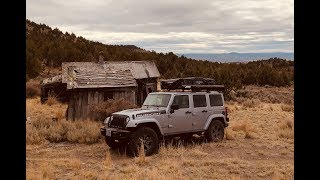 Download Jeep Car Camping Overland Style - Oregon Homesteads Arrowheads and Petrified Wood Video