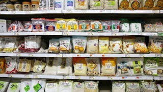 Download Korean Grocery Shopping: noodles, powders, grains, beans, & seaweed Video
