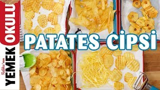 Download Evde Patates Cipsi | Dev Derbiye Yakışır Çıtır Çıtır Patates Cipsi Tarifi Video