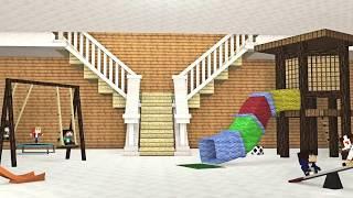Download Minecraft : ESCOLA DE BEBÊS ( Baby School Daycare) - CARRETA FURACÃO VISITA A CRECHE !! Video