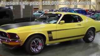 Download $88,000 1969 Boss 302 Mustang Lot # 709 Barrett Jackson Las Vegas 2014 Mustang Connection Video