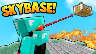 Download SKY BASE TROLLING! | Minecraft SKY WARS Video