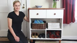 Download Beautiful Entryway Table w/ Dovetail Drawers Video