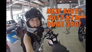 Download GakiMoto 88: Picking up my 2017 KTM Duke 390 Video