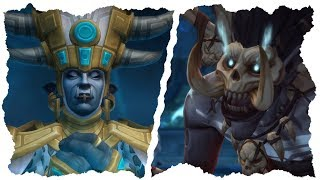 Download All Horde Cinematics In Battle for Azeroth - Talanji, Bwonsamdi, Rastakhan & Zul! Video