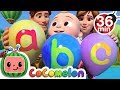 ABC Song with Balloons + More Nursery Rhymes & Kids Songs - CoCoMelon