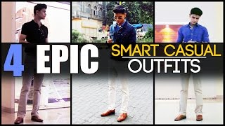 Download 4 EPIC Smart Casual OUTFITS Every Man Needs | Classic Men's Look-Book | Mayank Bhattacharya Video