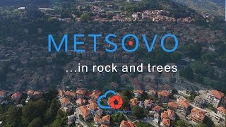 Download Metsovo view from a drone Video
