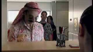 Download Funny video: Terrorist goes through immigration Video