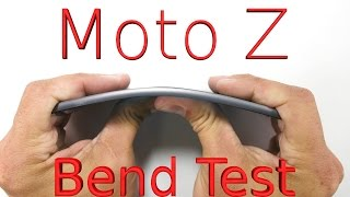 Download Worlds THINNEST Smartphone BEND TEST - Moto Z Video