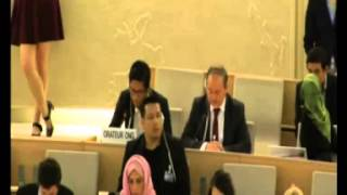 Download ERC highlights emerging racism and xenophobia in Myanmar in 29th regular session of UN HRC Video