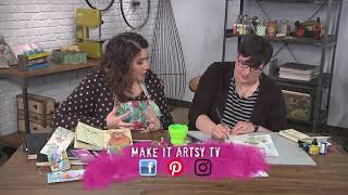 Download Sketchbook Lesson One - Look Closely on Make It Artsy with Tori Weyers (701-4) Video