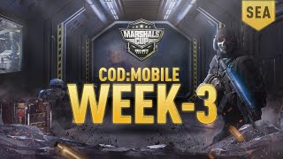 Download WEEK 3 MATCH DAY of CoD:M Marshals Cup Video