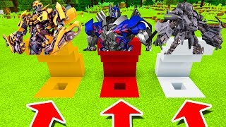 Download Minecraft PE : DO NOT CHOOSE THE WRONG HOLE! (Bumblebee, Optimus Prime & Blackout) Video