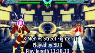 Download TAS X-Men vs. Street Fighter ARC in 11:38 by SDR Video