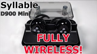 Download Syllable D900 Mini FULLY Wireless Earbuds | Apple Airpods Alternative Video