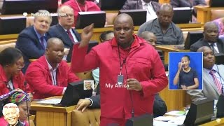 Download Floyd Shivambu - ″Zuma Is Going To K... You″ Video