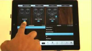 Download VocaLive for iPad: the first professional vocal processor for iOS! Video