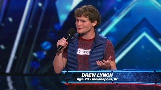 Download America's Got Talent 2015 S10E01 Drew Lynch Must See Stand Up Comedian Video