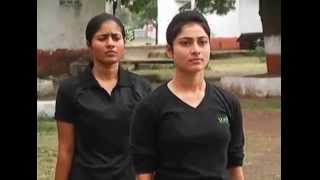 Download beautiful girl Soldiers training Video