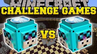 Download Minecraft: DANTDM VS THEDIAMONDMINECART CHALLENGE GAMES - Lucky Block Mod - Modded Mini-Game Video
