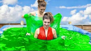 Download 5000 Pounds Of Slime In Hot Tub! Video