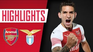 Download TORREIRA MAKES HIS DEBUT | Arsenal 2 v 0 Lazio | Full highlights Video