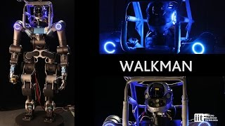 Download IIT robot WALKMAN ready for the DARPA Robotics Challenge 2015 Video