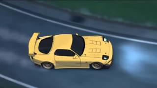 Download Initial D Battle Stage 3 - RX7 FD3S vs. Supra A80 Video