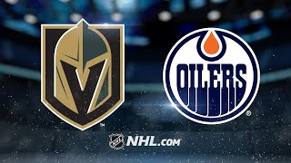 Download McDavid, Oilers rout Golden Knights in 8-2 win Video