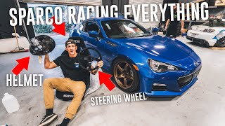Download INSTALLING SPARCO RACING SEAT IN THE DRIFT BRZ! *SPARCO RACING HAUL* Video