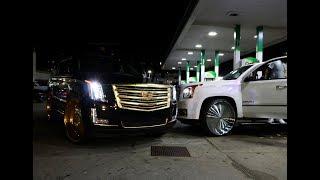Download WhipAddict: 107.9 Birthday Bash Night in Atlanta! Escalade & Denali on Rucci Forged 30s, Custom Cars Video