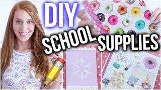 Download DIY SCHOOL SUPPLIES IDEEN DIE DU AUSPROBIEREN SOLLTEST! | Back to school ♡ | LaurenCocoXO Video