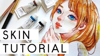 Download Skin Watercolor Coloring Tutorial Video