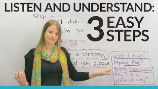 Download LISTENING & UNDERSTANDING in 3 Easy Steps Video