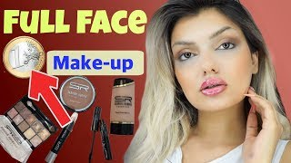 Download FULL FACE nur mit 1 € Makeup ‼️ Euroshop im LIVE Test I Nadjma Video