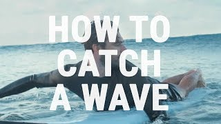 Download How to Catch an Unbroken Wave | How Surfers Paddle into Green Waves Video