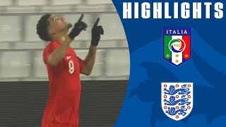 Download Italy U21 1-2 England U21 | Solanke Scores Two as Henderson Impresses! | Official Highlights Video