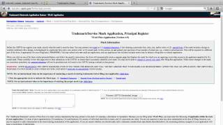 Download How to File a Trademark Application in the U.S. - Part 1 Video