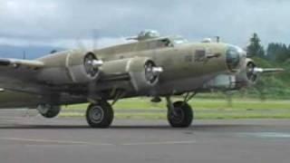 Download B-17, B-24, B-25 Startup and takeoff Video