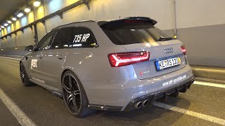 Download 735HP Audi RS6 Avant ABT 120th Anniversary Edition - BRUTAL Sounds! Video