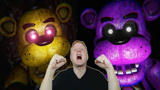 Download GOLDEN FREDDY & SHADOW FREDDY ARE RUTHLESS | FNAF 1 FREE ROAM (UE4 EDITION ) - NIGHT 5 & 6 + EXTRAS Video