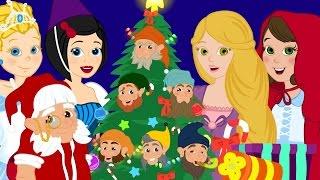 Download Bate O Sino Pequenino - Musica de natal - com Cinderela-Rapunzel-Chapeuzinho Vermelho Video