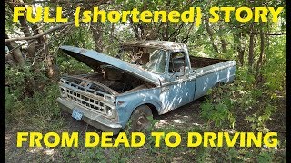 Download Home Brewed Roadkill! Abandoned F250 First Start and Drive in 26 Years!! Video