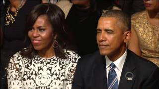 Download Sam Moore sings Ray Charles ″I Can't Stop Loving You″ at the White House 2016 in HD. Video