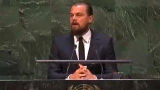 Download Leonardo DiCaprio's Powerful Climate Summit Speech Video