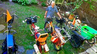 Download Review: 5 Family Cargo Bikes w/ Electric Assist: Haul-A-Day, Yubas, Radwagon, Madsen Bucket Video