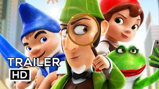 Download SHERLOCK GNOMES Official Trailer #2 (2018) Johnny Depp, Emily Blunt Animated Movie HD Video