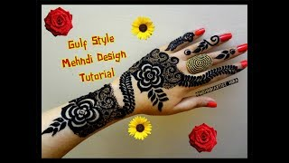 Best And Beautiful Latest Gulf Arabic Henna Mehndi Designs For Hands