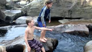 Download Swimming Through The Under Water Tunnels/Sieves in the Ocoee River! SCARY!! Video